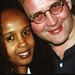 Chief Stephen Osita Osadebe (RIP) from Nigeria Hosted by  Equator Club Philadelphia Fouzia from Somalia with MGS 1997 262