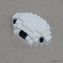 nanoblock Metoo Rabbit Build Instructions (inanoblock) Tags: rabbit bunny lego bricks instructions blocks build metoo nanoblock ナノブロック nanoblocks