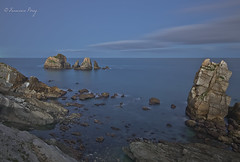 148 segundos. (Francisco J. Prez.) Tags: naturaleza nature night spain pentax paisaje panoramica nocturnas playas cantabria sigma1020mm pentaxart pentaxk5 franciscojprez