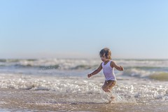 summer reigns (Sonja Stone) Tags: ocean boy beach water sand nikon child play splash childhoond