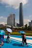 Blue, Blue and Blue. (jssutt) Tags: guangzhou china cantontower jssutt jeffsuttlemyre jssuttjeffsuttlemyre guangzhou2013