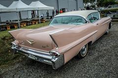 Peggy Sue (xwattez) Tags: france car hall automobile voiture cadillac american 1958 peggysue comminges américaine colomiers 2013 boursedéchange