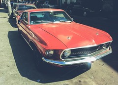 Ford Mustang Fastback (Picture With My Phone) (Jeferson Felix D.) Tags: ford car muscle mustang musclecar fastback fordmustangfastback