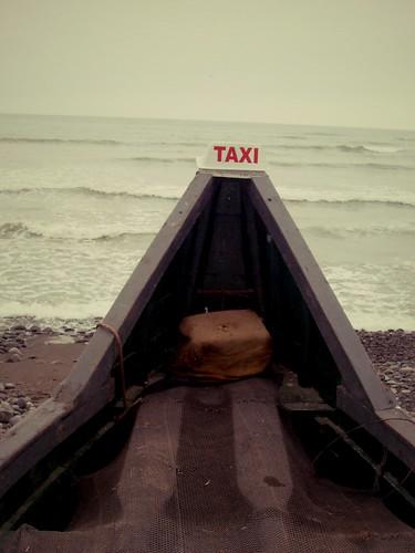 Bateau-taxi, Lima, Pérou