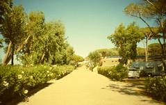 "Villaggio ""La Tortuga"" (Ravo86) Tags: sardegna sunset lomo lca lomography barca sardinia maddalena gita vacanza sunsetstrip 100iso aglientu"