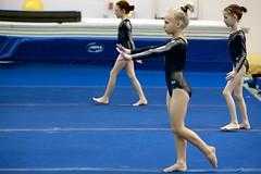Sidney, Olivia and Danielle (James R. Burton, Jr.) Tags: peak gymnastics meet dardanos