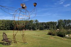 Houplin-Ancoisne, jardin Mosac (Ytierny) Tags: france horizontal moderne pot arbre parc nord pelouse gazon flandre espacevert parcdeladeule jardinmosac mtropolelilloise ytierny