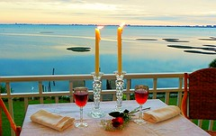 Romantic Candles & Wine (carolynthepilot) Tags: travel sky flower love nature rose carolyn relax landscape island photography islands photo photographer photoshoot wine florida crystal miami getaway balcony postcard tourist romance lovers retro canvas condo photograph bbc tropical tropicalisland romantic bayside sarasota leisure windowview candlelight fl oyster wineglass winebottle luxury tropics tranquil touring traveler waterscape bayfront balconyview srq waterscapes sarasotabay tropicalbeach romanticgetaway goldenwings islandtime oysterbeds worldtraveler worldtraveller frommers islandgetaway sunnyisle sarasotafl travelmagazines luxuryvacation carolynbistline carolynthepilot bistline bbcsponsored carolynsuebistline bistlines flickrhivemindnet flickrmindset travelthecoast