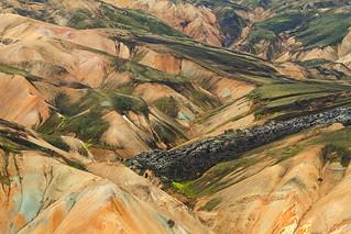 Landmannalaugar textures, Iceland