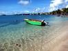 Caribbean Blue (Heaven`s Gate (John)) Tags: ocean blue sea seascape beach topf25 water boat fishing azure peaceful grenada caribbean ripples tranquil lanceauxepines 10faves 25faves johndalkin heavensgatejohn pricklybay thecalabash