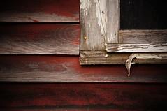 (jtr27) Tags: red barn decay sony maine sigma scarborough wabisabi 60mm alpha f28 ilc patina redness dn nex adorama mirrorless dsc09465 emount jtr27 nex5n
