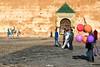 Mekenès (Christophe Rettien) Tags: africa red horse orange wall delete10 delete9 balloons delete5 delete2 purple delete6 delete7 delete8 delete3 delete delete4 cobblestone morocco maroc cropped delete20 niksoftware d7000 35mmf18gafs mekenès