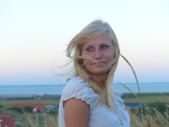 Anni (mause93) Tags: beautiful face strand meer sommer blondes blonde nordsee mdchen schn