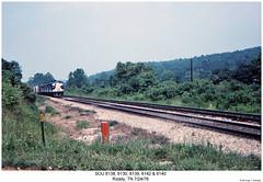 SOU 6138, 6130, 6139, 6142 & 6140 (Robert W. Thomson) Tags: railroad train diesel tennessee railway trains southern f locomotive trainengine sr sou roddy coveredwagon fp7 f7 emd funit f7a aunit fouraxle fp7a cabunit