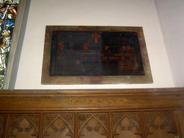 Pizey plaque