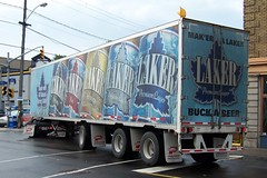 LAKER BEER TRAILER Ottawa, Ontario Canada 09262007 ©Ian A. McCord (ocrr4204) Tags: ontario canada truck kodak ottawa camion vehicle pointandshoot mccord trucking z740 ianmccord ianamccord