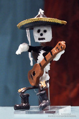 A Song For The Dead (DMeadows) Tags: museum dead mexico skeleton for scotland miniature edinburgh gallery day display guitar song exhibit national davidmeadows dmeadows davidameadows dameadows