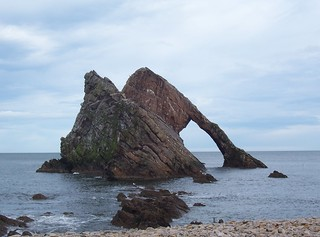 Bow Fiddle Rock, Portnockie, Moray Coast, Feb 2014