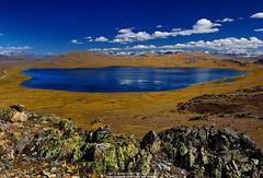 Sheosar Lake (I M R A N ~ light and Shades ~) Tags: blue pakistan lake imran deosai sheosarlake pakistaniphotographer pakistanlandscapephotographer