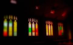Stained Glass Windows (rolandmks7) Tags: stainedglass canoncitycolorado holycrossabbey befunky