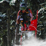 Morgan Pridy in FIS DH at Whistler.              PHOTO CREDIT: Gordon Kwong