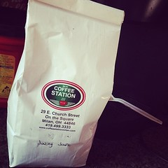 """I'm sorry Folgers, but you are no longer the best part of waking up... Thanks to my first and only early bday gift from @hakuna_some_vodka .. seriously this is really really good coffee. Folks, truly good old fashioned, thoughtful people do still exist. S • <a style=""""font-size:0.8em;"""" href=""""https://www.flickr.com/photos/62467064@N06/13737692943/"""" target=""""_blank"""">View on Flickr</a>"""