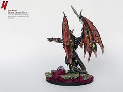 Be'lakor, the Dark Master (Uruk's Customs) Tags: dark chaos prince master warhammer daemon wfb wh40k daemons slaneesh belakor
