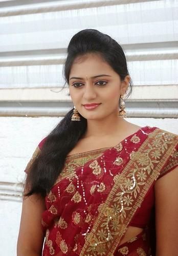 Tamil Tv Actress Aishwarya In Saree A Photo On Flickriver