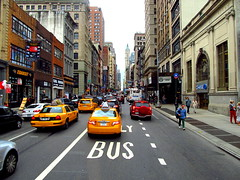 Traffic (anthony.brum52) Tags: new york city canon cloudy vivid powershot busy
