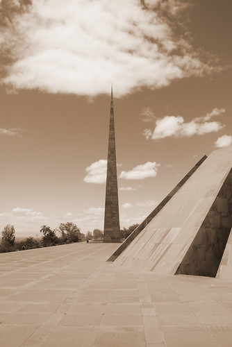 The Armenian Genocide memorial complex, Yerevan