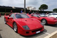 Ferrari F40 (GtCh) Tags: auto classic car paul 2000 tour ferrari voiture circuit supercar ricard f40 optic 2014 classqiue