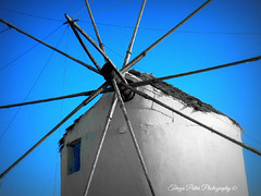 Windmill (Terezaki ✈) Tags: life blue light sky windmill colors port photography photo day searchthebest live aegean hellas greece grecia paros pictureperfect selective hellenic naturesfinest paroikia ncg kyklades 100faves 50faves 100favs anawesomeshot flickrdiamond theperfectphotographer