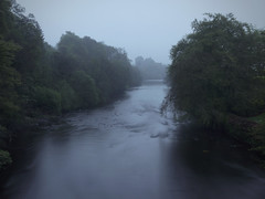 DOUNE THE FOGGY TEITH (kenny barker) Tags: mist castle fog river scotland 21 doune teith riverteith