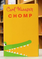 Chomp (Vernon Barford School Library) Tags: show new school fiction people television person reading book tv high missing florida library libraries wildlife hard reads books read adventure cover carl everglades junior reality novel covers bookcover persons adventures middle chomp vernon realitytv recent bookcovers refuge novels fictional adventurer hardcover realitytelevision adventurers realityshow barford refuges hiaasen hardcovers vernonbarford 9780375868429