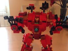 Hulkbuster Mk2.1 (lee_a_t) Tags: robot lego ironman suit superhero superheroes hulk marvel mecha avengers tonystark mech hulkbuster starkindustries legoironman legohulkbuster