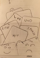 Lak und Litke mit Spongo. A new cartoon. more to follow