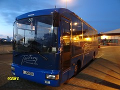 Tantivy 60 (Coco the Jerzee Busman) Tags: uk blue bus islands coach camo renault cannon jersey swift dennis tours dart channel leyland lcb plaxton tantivy