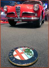 Alfa Romeo (Aerofossile2012) Tags: paris automobile voiture salon alfaromeo carshow mondial giulietta 2014