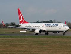 TC-JYH Boeing 737-9F2 (Irish251) Tags: ireland dublin airport boeing airlines dub turkish 737 737900 eidw 7379f2 tcjyh