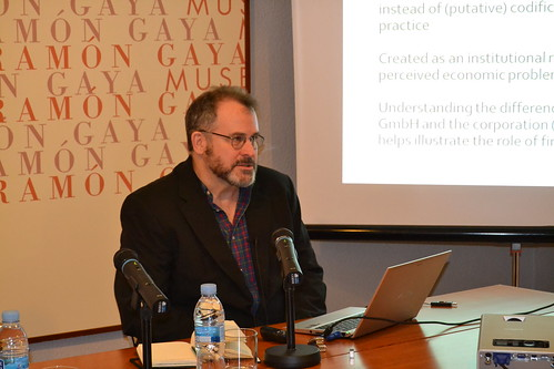 Seminario de expertos en Historia, Legislación y Organización Societaria 5