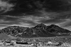 Welcome to Death Valley (lukemarkof) Tags: light shadow usa sun sunlight white holiday black art classic canon dark fun happy nationalpark exposure play view desert outdoor unique style dry funky special exotic deathvalley depth interest arid challenging 2015 60d