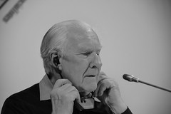 Alain Badiou famous French philosopher, formerly chair of Philosophy at the cole Normale Suprieure (ENS) and founder of the faculty of Philosophy of the Universit de Paris VIII in Athens, on May 5., 2016 (X-Andra) Tags: french chair philosophy athens greece ens alain philosopher marxist attica grc badiou colenormalesuprieure