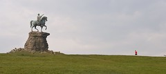 Windsor Great Park 7 May 2016 007 (paul_appleyard) Tags: horse statue george king finger iii may copper pointing runner horseback jogger 2016