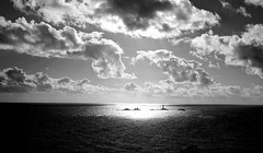 view from Lands end. (plot19) Tags: uk sea england sky blackandwhite seascape english landscape photography coast blackwhite cornwall britain british cornish britishcoast plot19