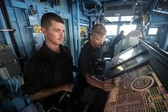 160512-N-EH218-117 (U.S. Pacific Fleet) Tags: ocean usa pacific mob pacificocean cruiser underway deployment 2016 ussmobilebay cg53 7thfleet