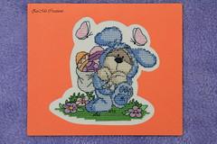 Fizzy Moon (Zu Mo) Tags: handmade eastereggs happyeaster fizzymoon crossstitchcard