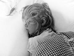 Sleep of the innocent (estenvik) Tags: sleeping blackandwhite girl monochrome sleep grayscale jente 2016 svn sovende estenvik erikstenvik