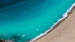 Spiaggia dei Maronti (elzauer) Tags: blue roof sea sky italy beach swimming outdoors photography sand long surf day campania hill tranquility coastline watersedge majestic vacations naplesitaly leisureactivity gulfofnaples nonurbanscene highangleview directlyabove ischiaisland nauticalvessel incidentalpeople bayofwater