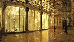Golestan Palace. Tehran. Iran (alba-7) Tags: travel canon flickr iran indoor palace curtains tehran teheran palacio irn golestan s120