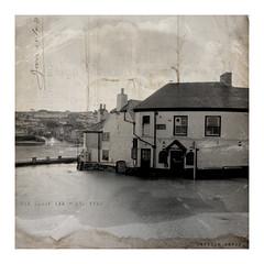 the Sloop Inn (Carolyn Saxby) Tags: old blackandwhite pub inn cornwall harbour stives listed fishstreet thesloopinn ccarolynsaxby